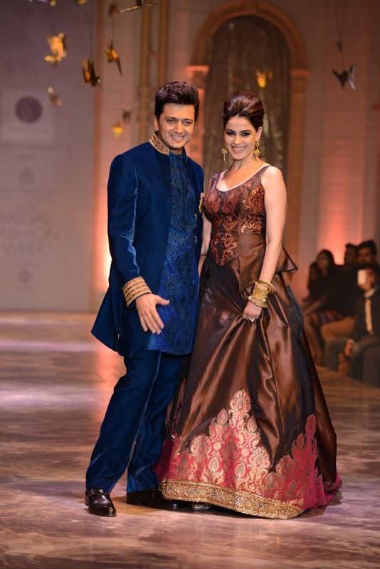 Genelia D'Souza Charming Images With Riteish Deshmukh