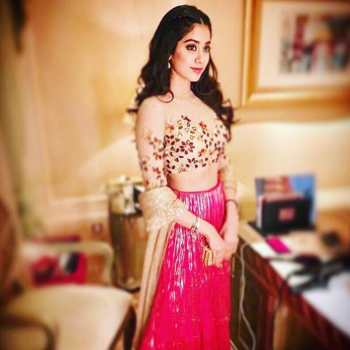 Jhanvi Kapoor Latest Style Photoshoots