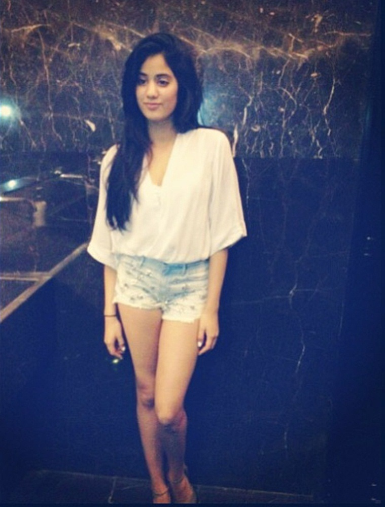 Jhanvi Kapoor Lovely Images At Event