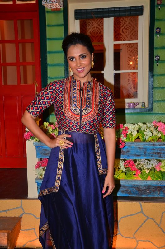 Lara Dutta At Kapil Sharma Show Images