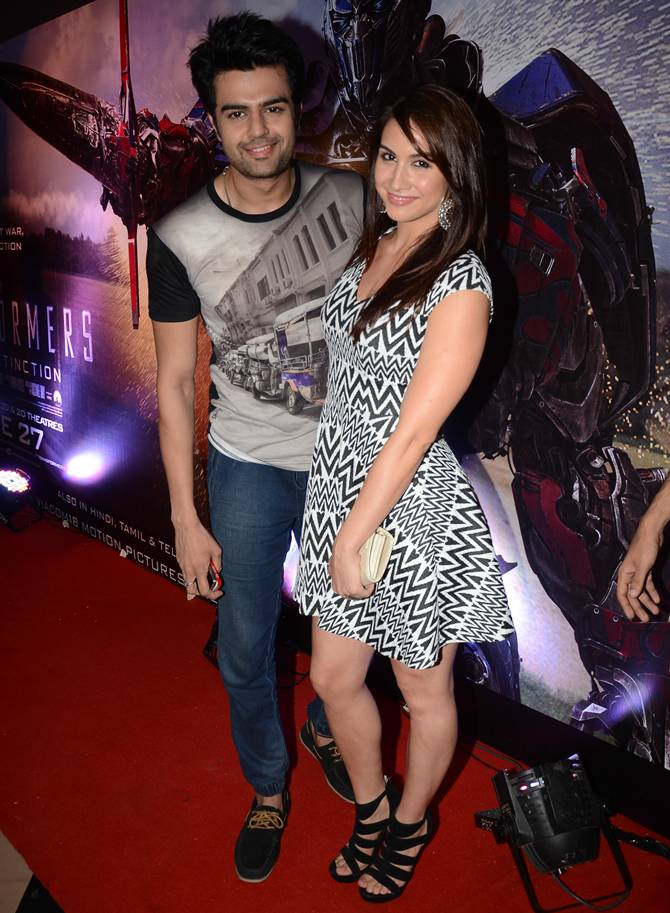 Lauren Gottlieb Cute Pics With Manish Puol