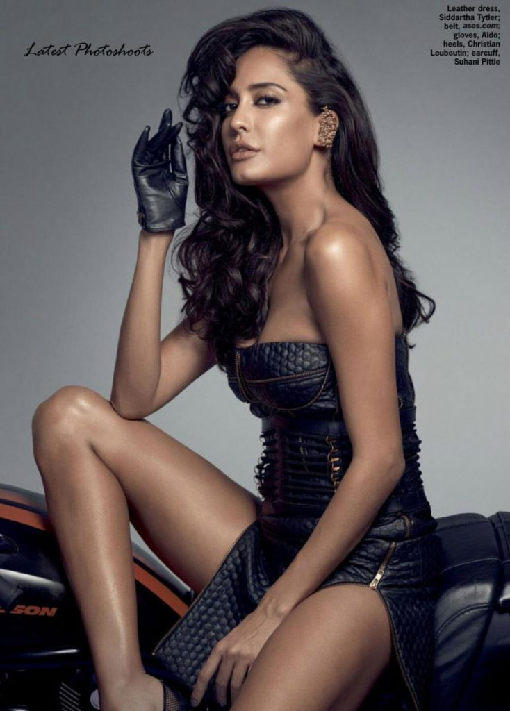 Lisa Haydon Hot Look In Bra Panty