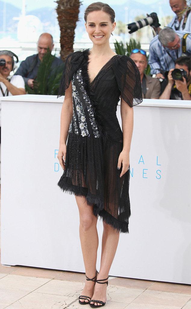 Natalie Portman Beautiful Look In Short Cloths