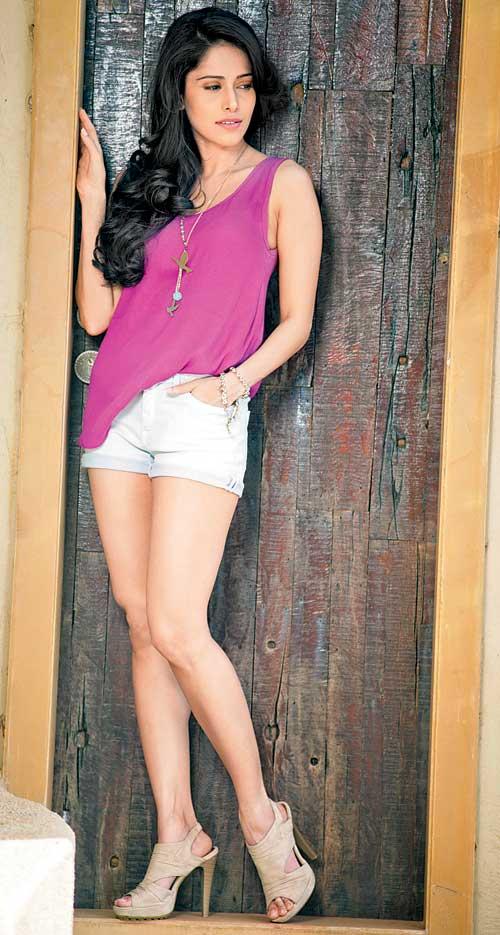 Nushrat Bharucha Hot In Bikini Photoshoot