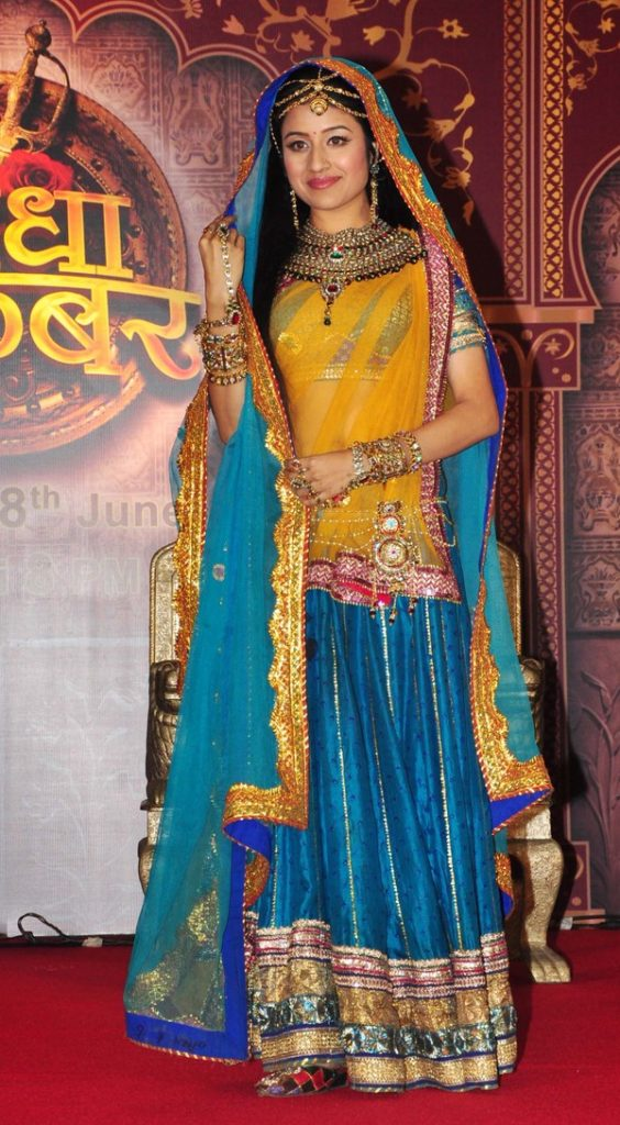 Paridhi Sharma As Jodha Hot Photos