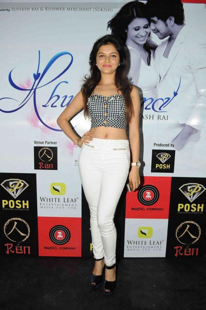 Rubina Dilaik Hot Images In Jeans Top HD