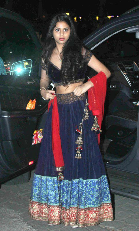 Shahrukh Khan's Daughter Suhana Khan Hot Images At Party