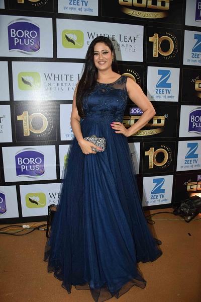 Shweta Tiwari At Award Show Pics