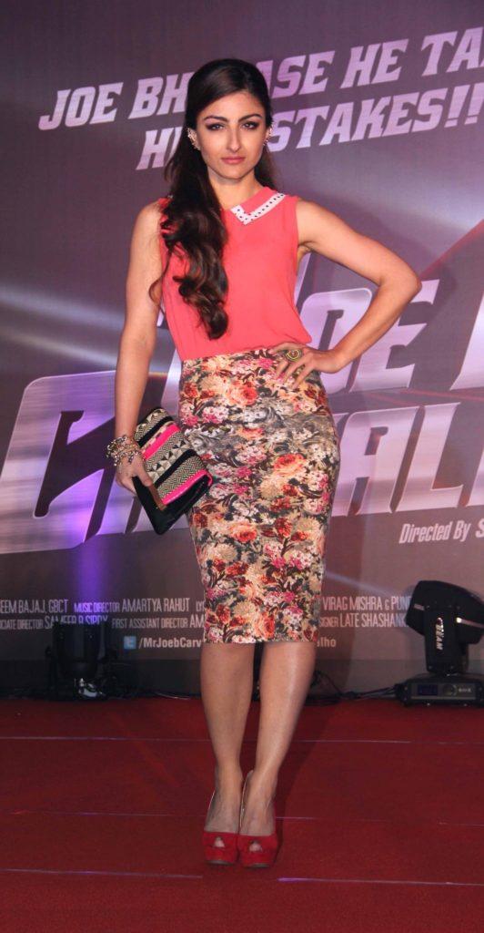 Soha Ali Khan Hot Images In Short Cloths HD