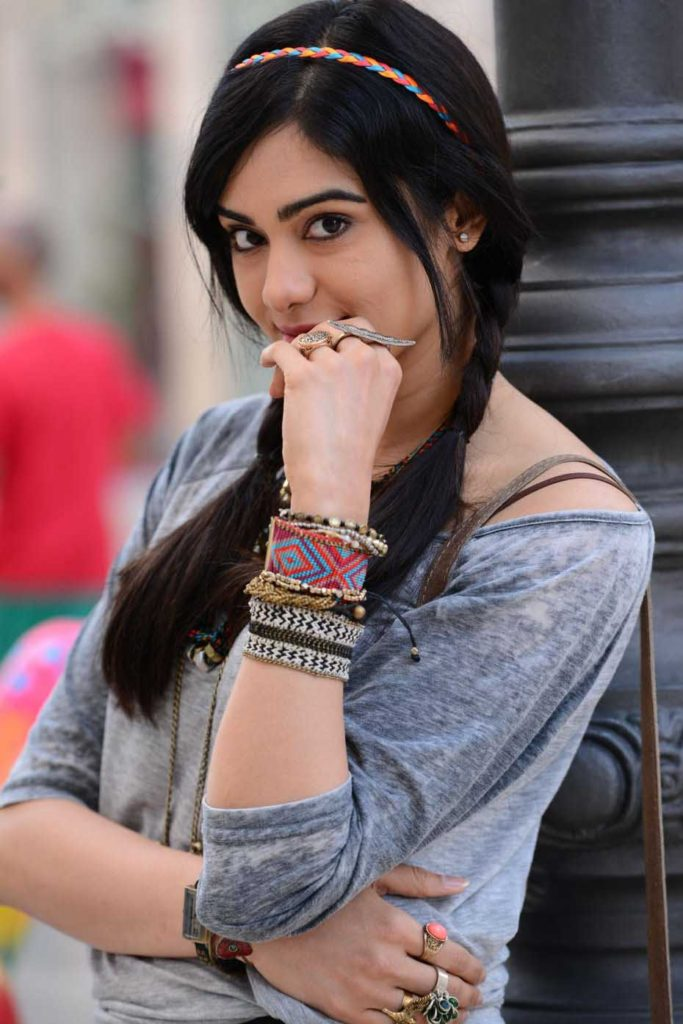 Adah Sharma Cute Smiling Pics
