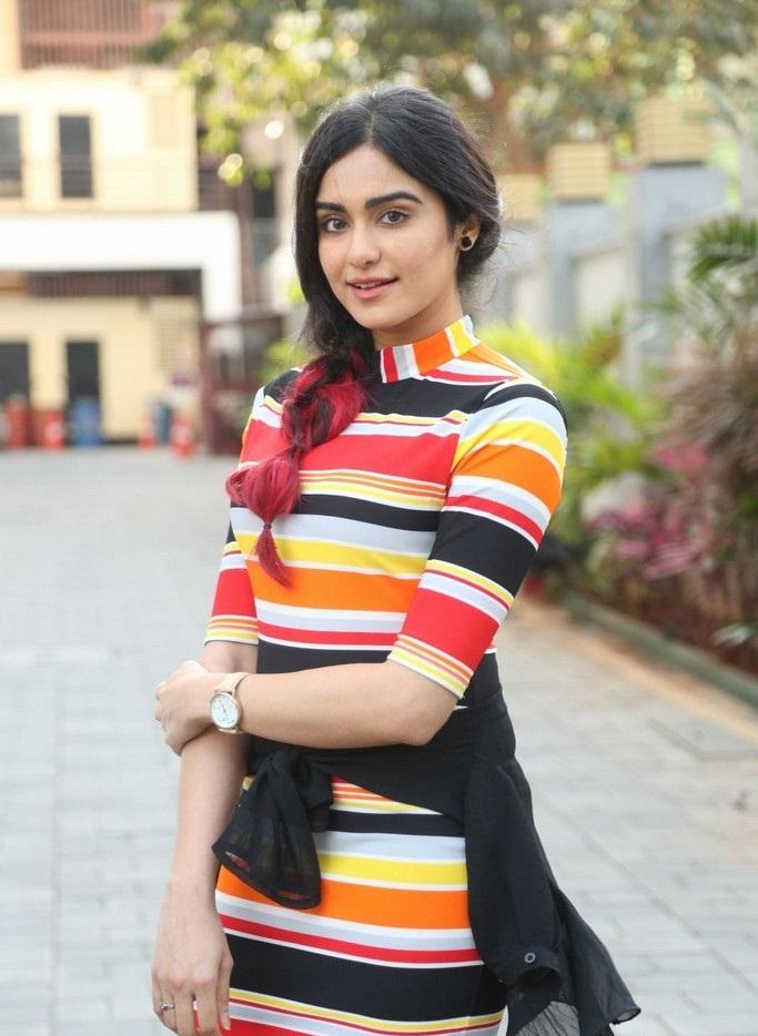 Adah Sharma In Short Dress Pics