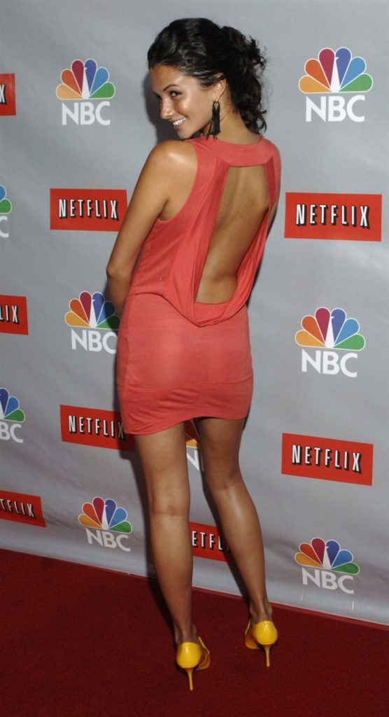 Alice Greczyn In Backless Cloths Full HD