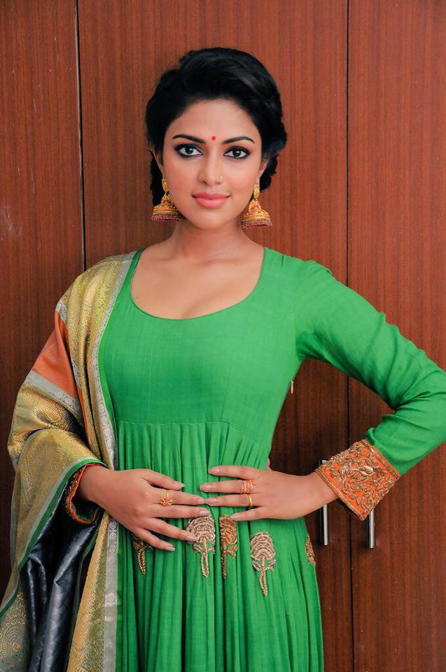 Amala Paul Hot In Salwaar Images