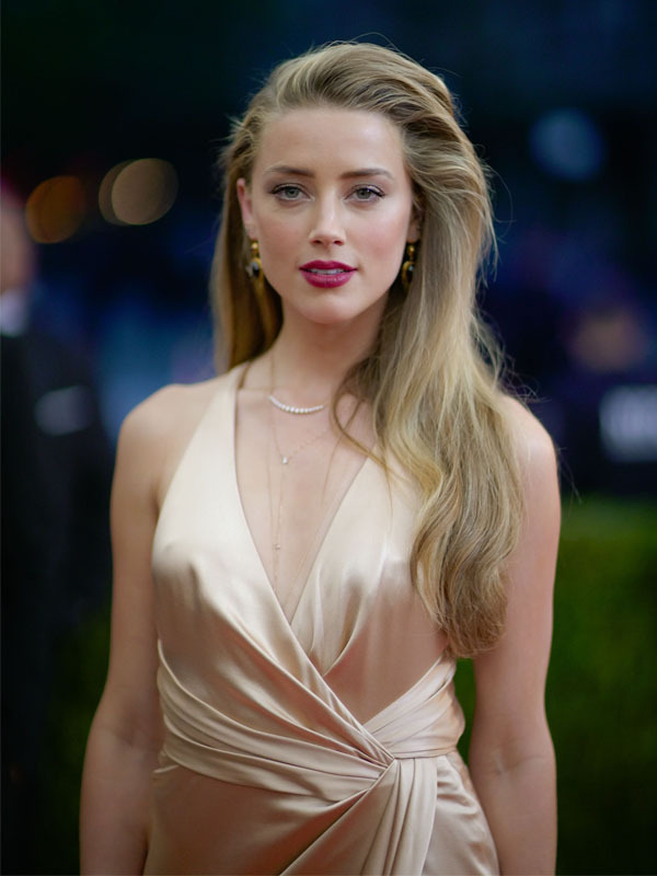 Amber Heard Latest New Hair Style Wallpapers