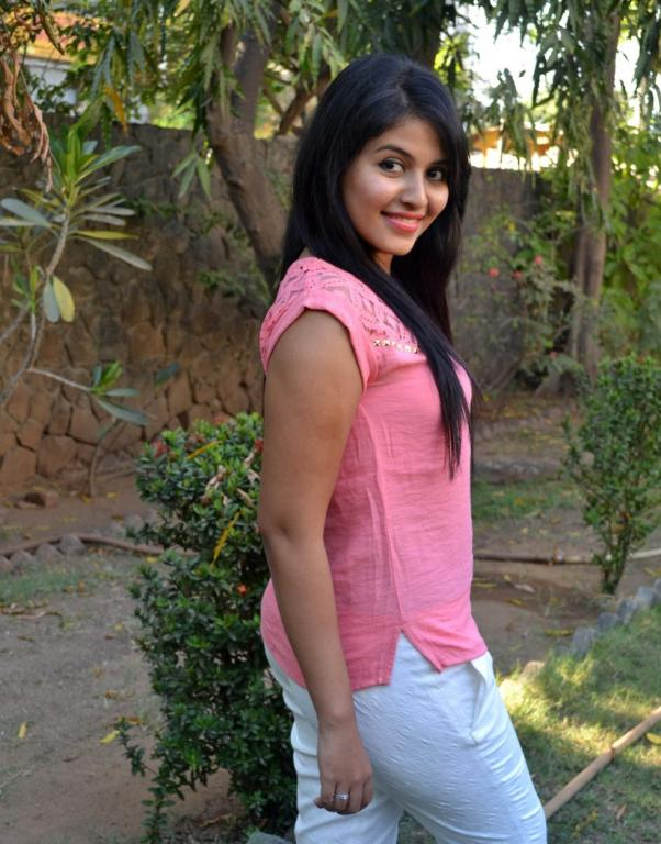Anjali Charming Images In Jeans Top