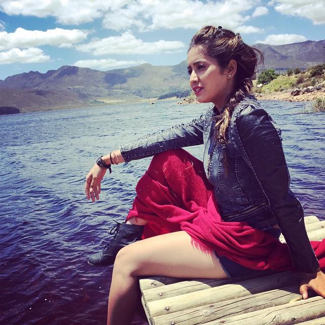 Asha Negi Sexy Legs Images