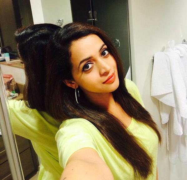 Bhavana Latest Hair Style Images