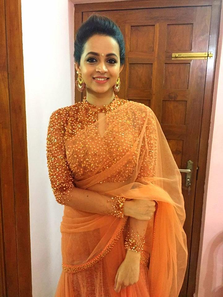 Bhavana Latest Hair Style Photos