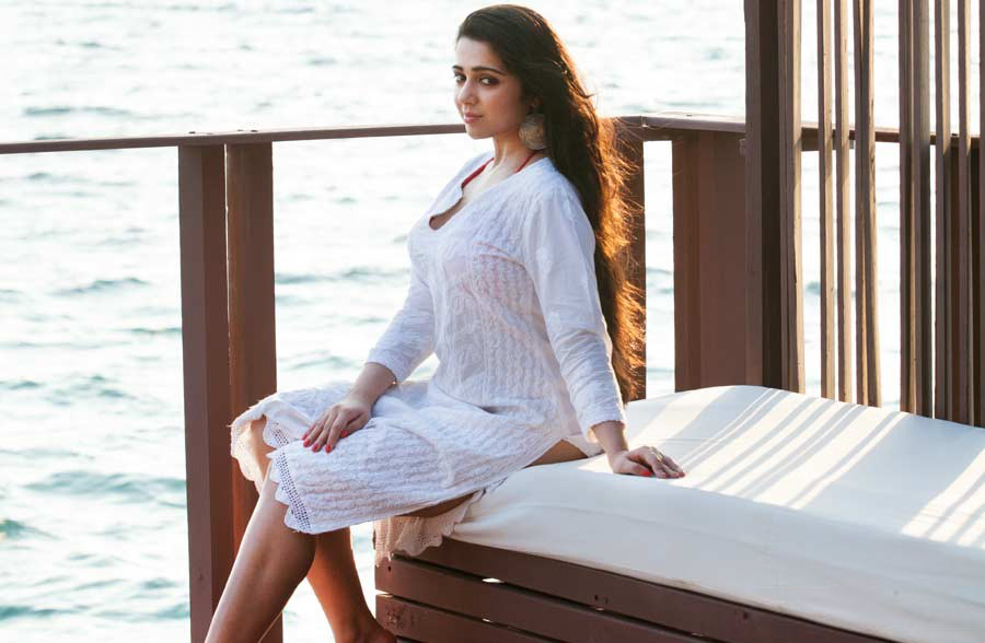 Bold Charmy Kaur Images