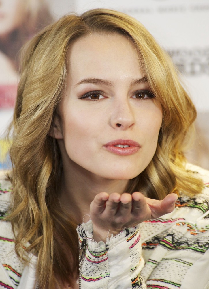Bridgit Mendler Flying Kissing Pics HD