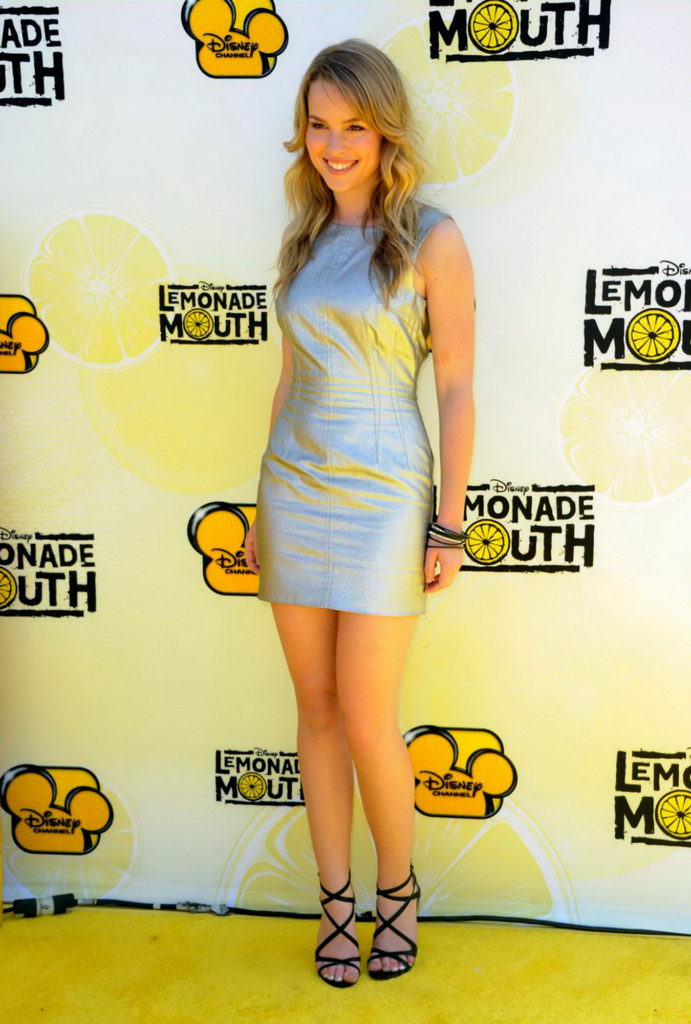 Bridgit Mendler Hot Look In Shorts