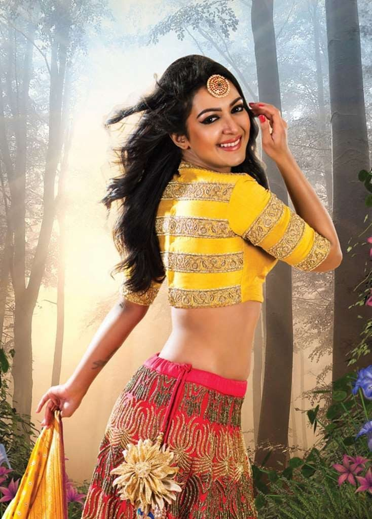 Catherine Tresa Pictures In Gagra Choli