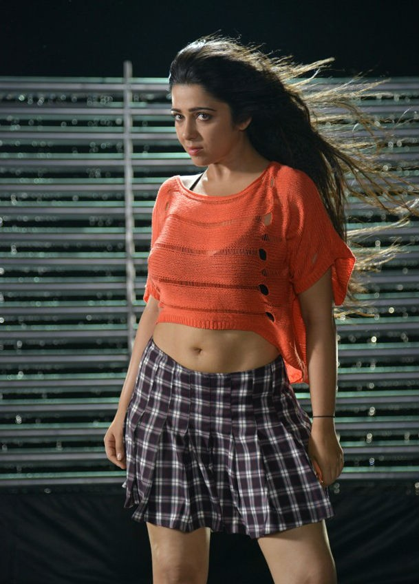 Charmy Kaur Hot Navel Wallpapers