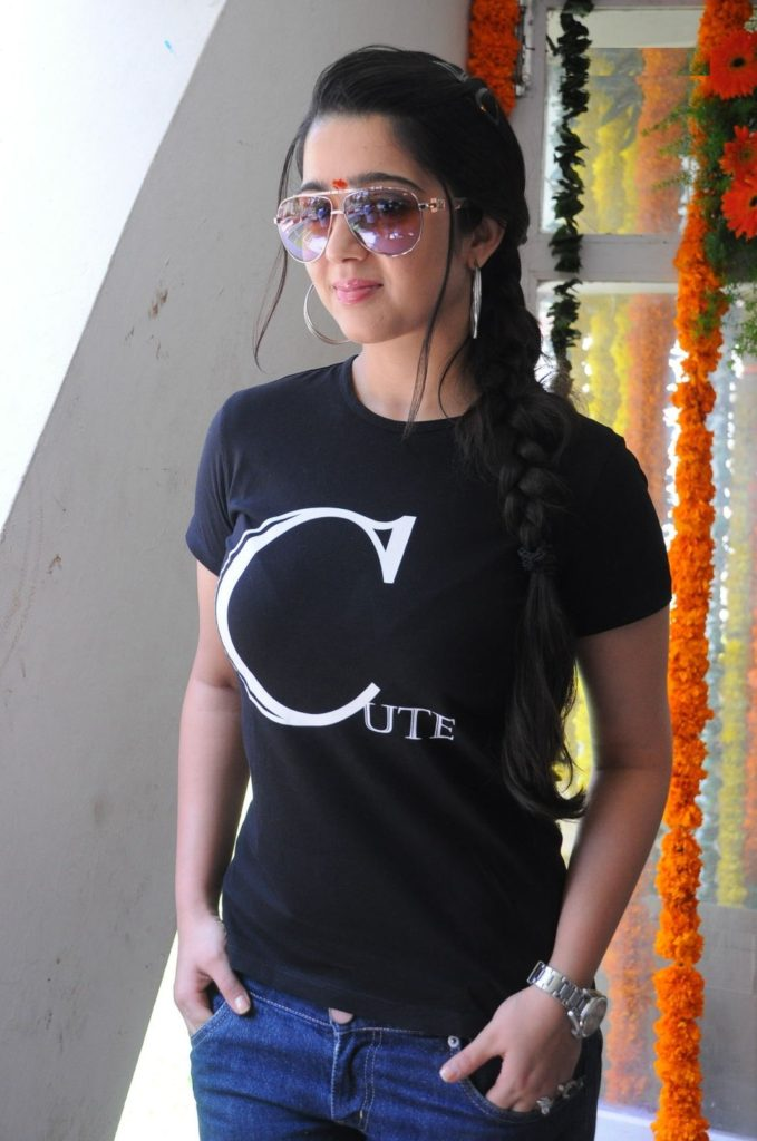 Charmy Kaur Images In Jeans Top