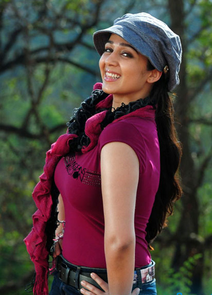Charmy Kaur Latest Style Wallpapers