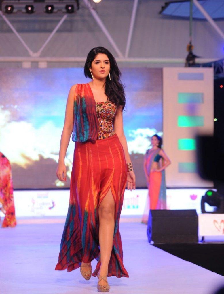 Deeksha Seth Beautiful Images At Rampwalk