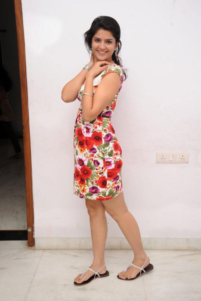 Deeksha Seth Hot Images In Short Dress For Desktop