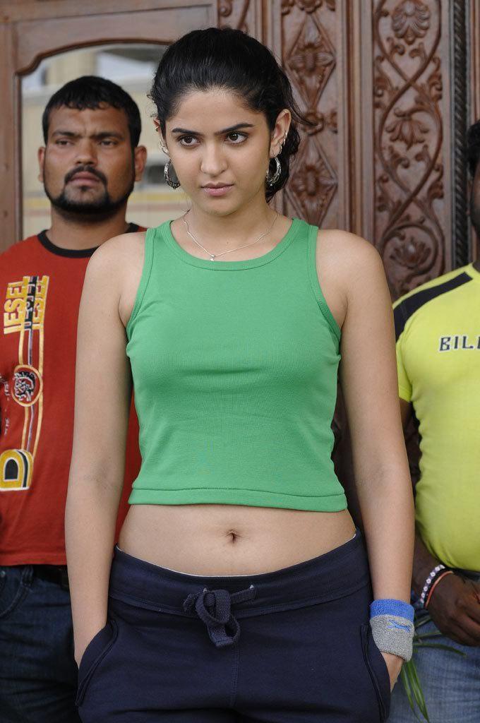 Deeksha Seth Hot Navel Photos