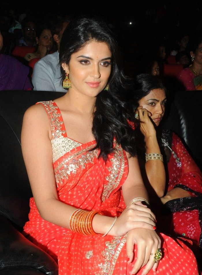 Deeksha Seth Images In Saree At Event