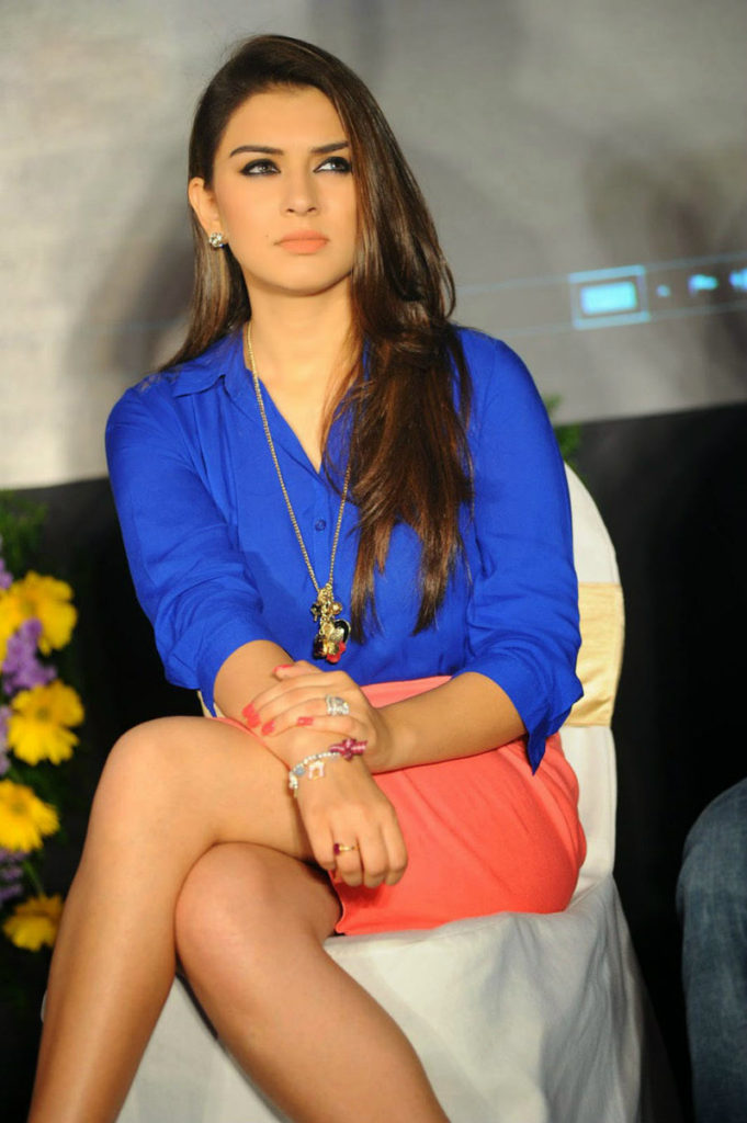 Hansika Motwani Hot & Spicy Legs Images