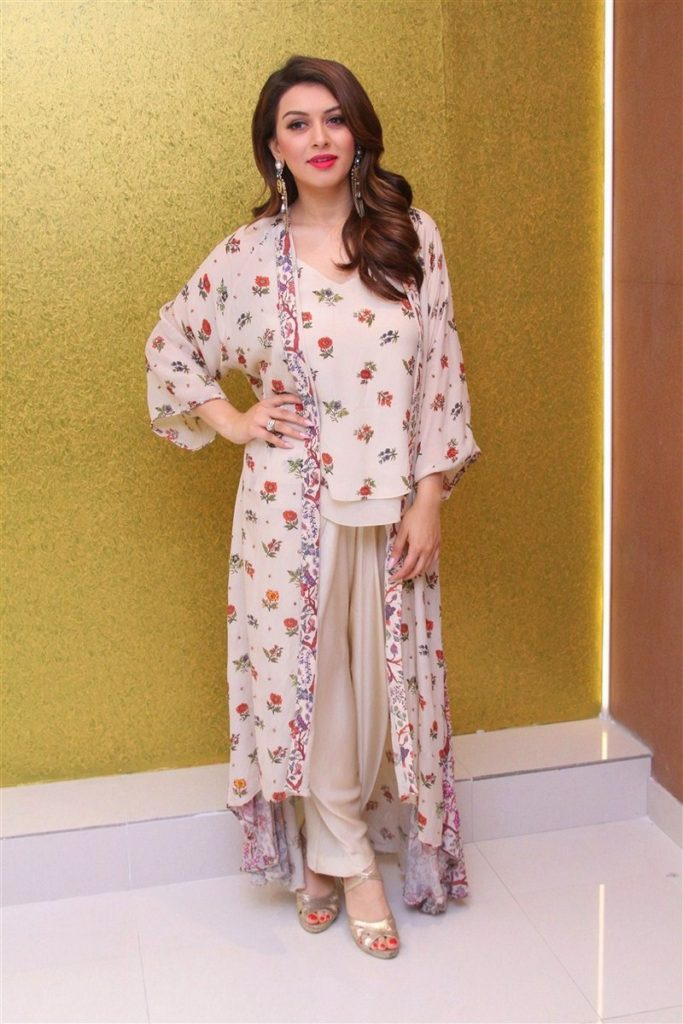 Hansika Motwani In Beautiful White Dress Pics