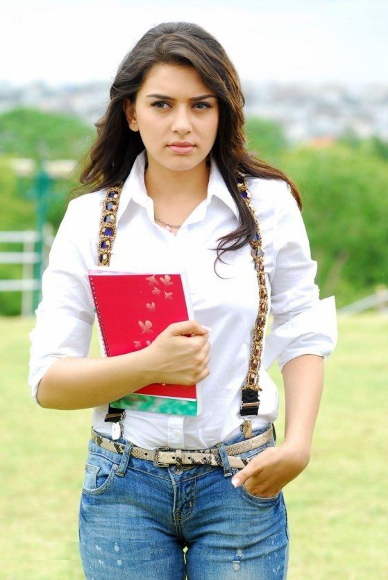 Hansika Motwani In Jeans Top Photos