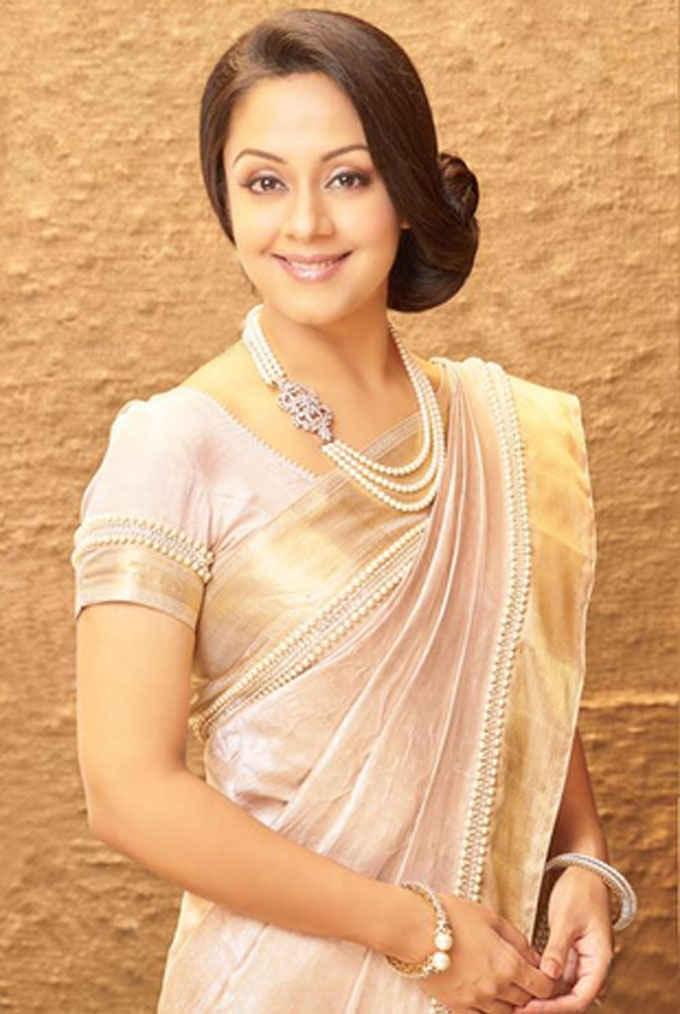 Jyothika Latest Hair Style Images
