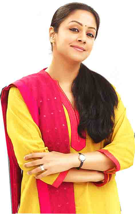 Jyothika Lovely Images In Salwar Kameez