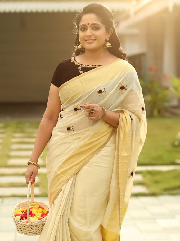 Kavya Madhavan Images In Saree