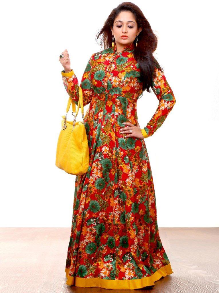 Kavya Madhavan Royal Look Images