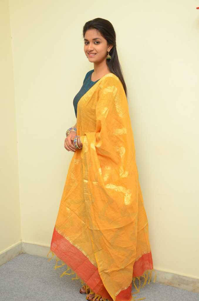 Keerthy Suresh Beautiful Images For Profile Pics