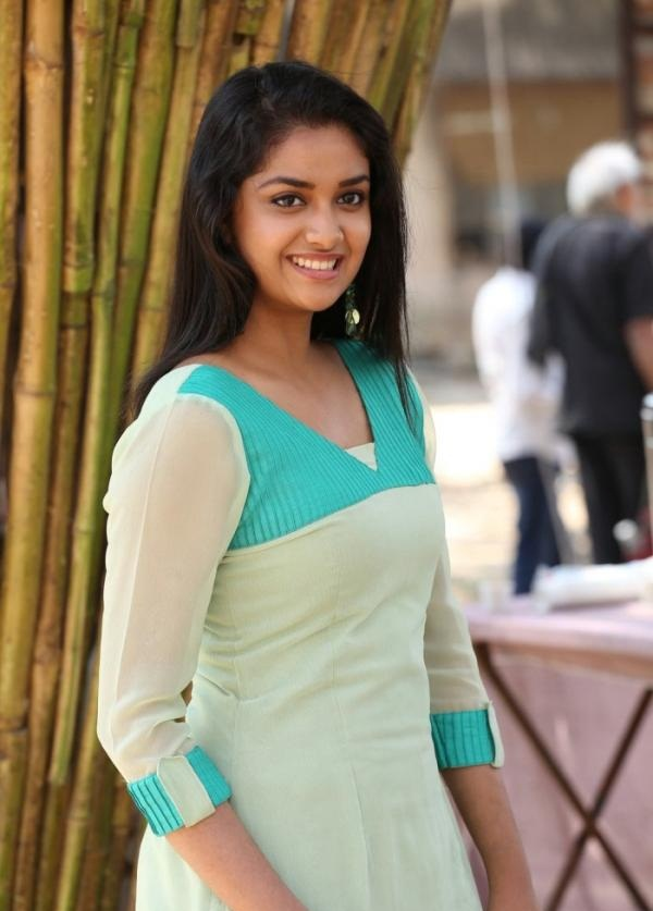Keerthy Suresh Hot Images In Salwar Kameez