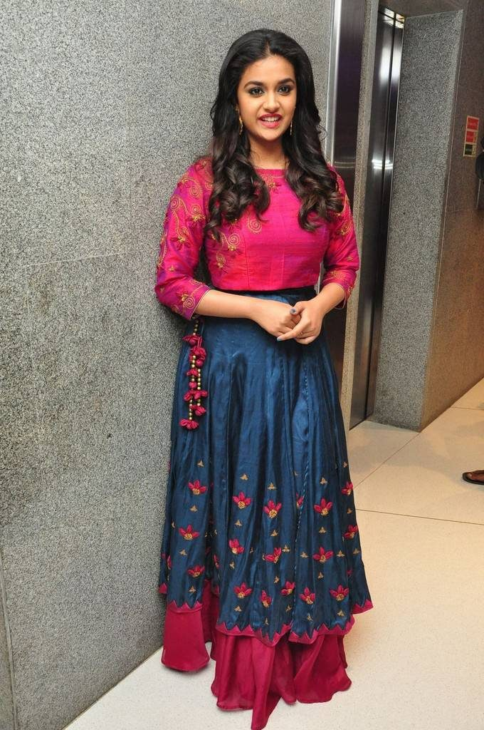 Keerthy Suresh Images In Anarkali