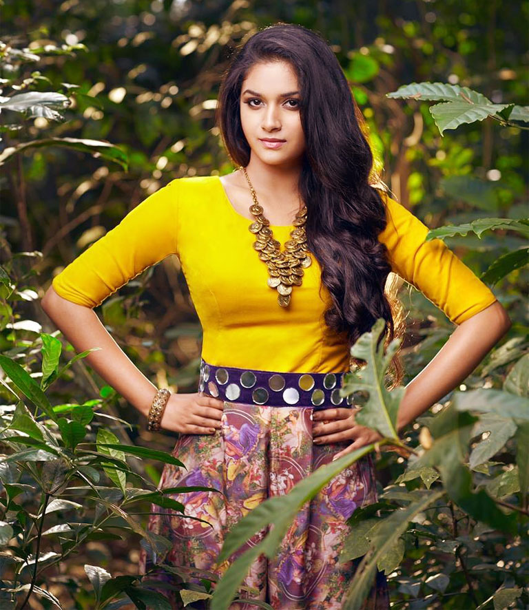 Keerthy Suresh Sexy Images