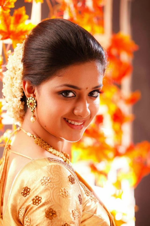 Keerthy Suresh Sweet Smile Wallpapers