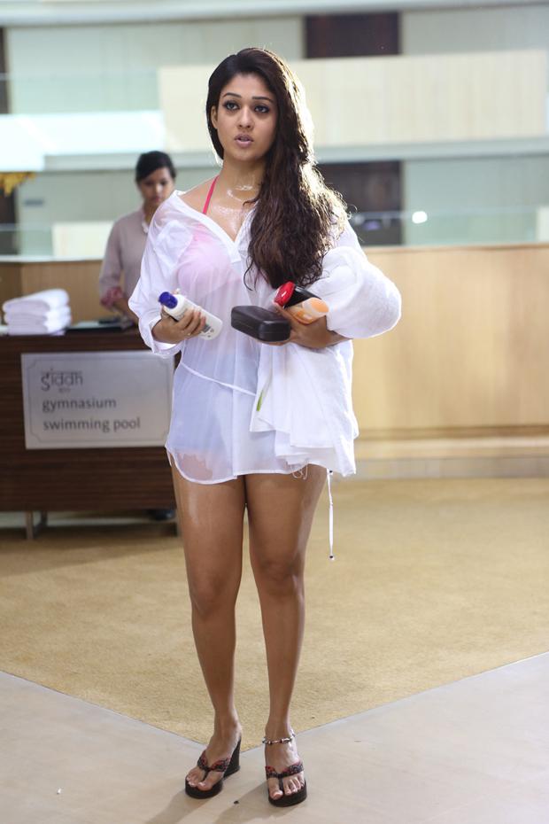 Nayanthara In Bra Bikini Photos Gallery HD