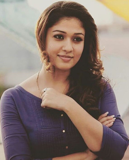 Nayanthara Latest Hair Style Wallpapers