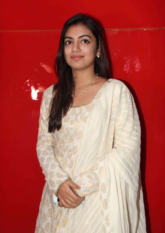 Nazriya Nazim Beautiful Images At Event
