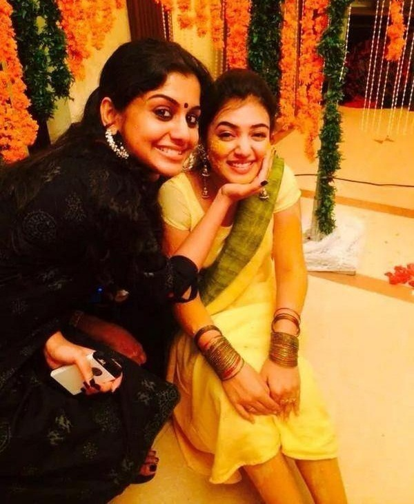 Nazriya Nazim Nice Wallpapers At Wedding