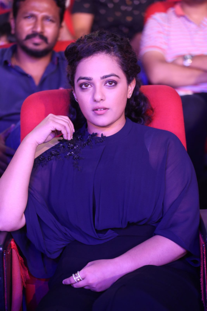 Nithya Menon Images At Award Show